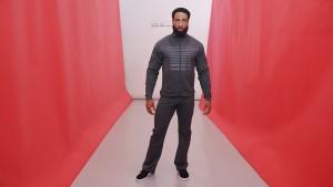 Carbon Billboard jacket. Carbon Fitness pant.