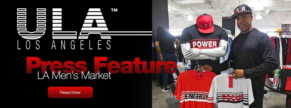 ULA Mens featured at the LA Men's Market